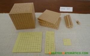 Base 10. Dividivisión con números de varias cifras. 1452:121