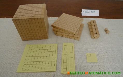Base 10. Dividir con un dividendo de varias cifras. 1452:121