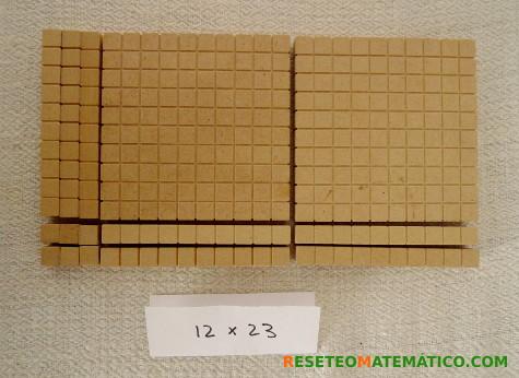 Multiplicación con Base 10. 12x23