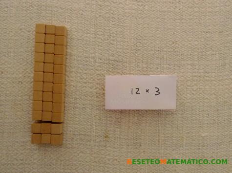 Multiplicación con Base 10. 12x3