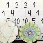 Taller de matemáticas FACE 2018: polígonos estrellados y triángulo de Pascal