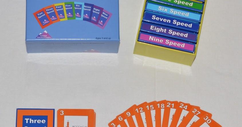 Speed: juego de cartas para aprender a multiplicar