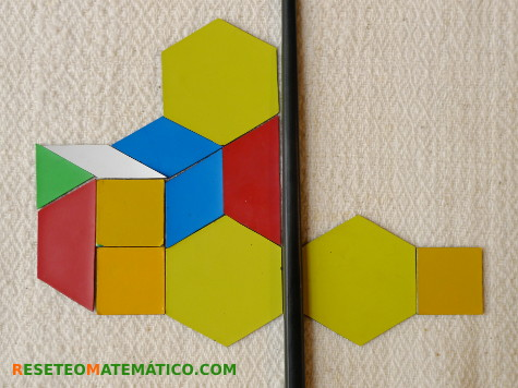 Pattern blocks simetría