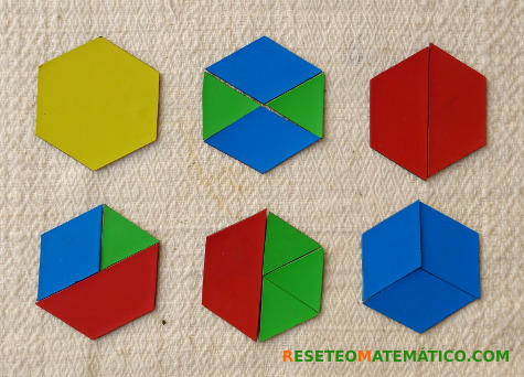 Pattern Blocks hexágonos