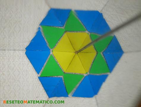Pattern Blocks simetría espejos