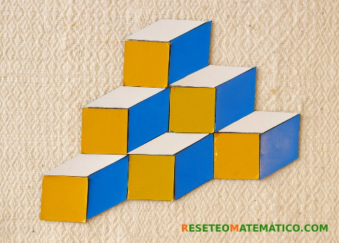 Pattern blocks teselación no regular