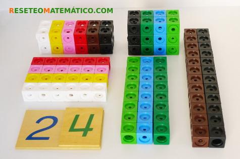 Descomposición de factores construyendo prismas