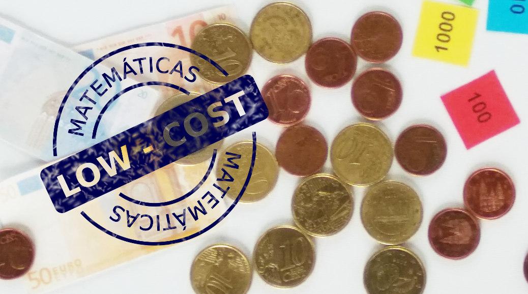 Cabecera matemáticas con monedas