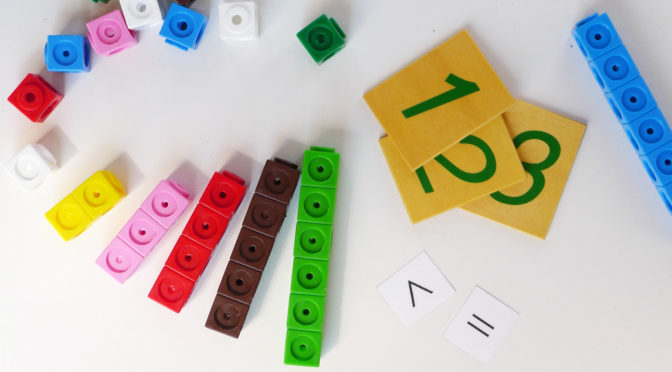 Policubos: Introducción al concepto de número