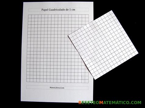 Proyecto Matemáticas Volumen Imprimibles. Cuadrícula en centímetros cuadrados.