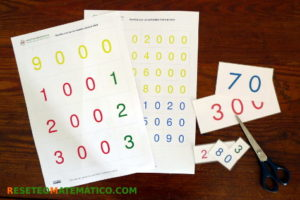 Numerales del 1 al 9999 para imprimir