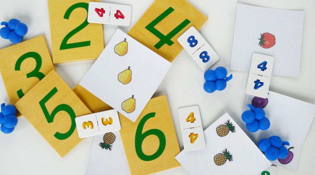 ¿Cómo se llegan a aprender los números?