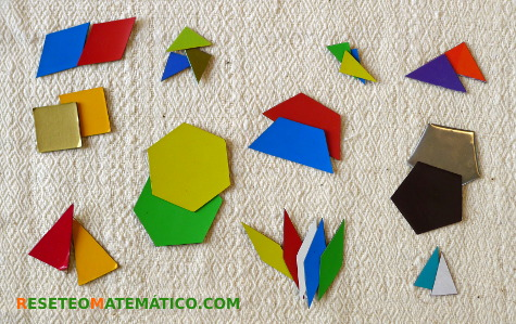 Pattern blocks caseras piezas