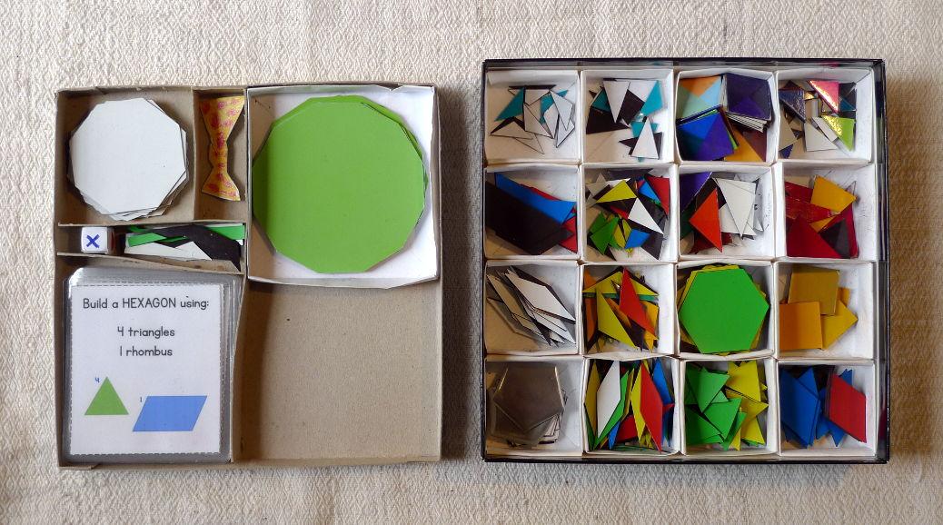 Piezas extra de Pattern Blocks 1
