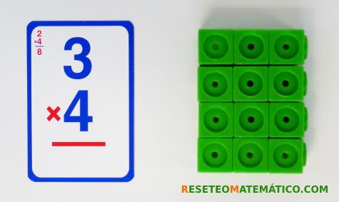 Multiplicación con Policubos como una matriz rectangular