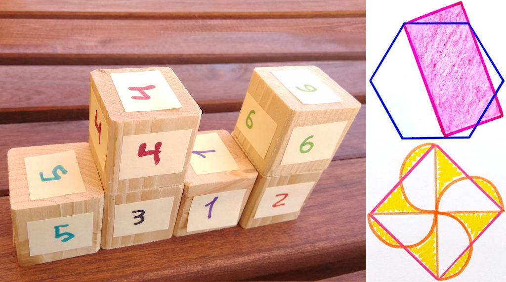 Retos matemáticos: construcciones con cubos y puzzles de áreas